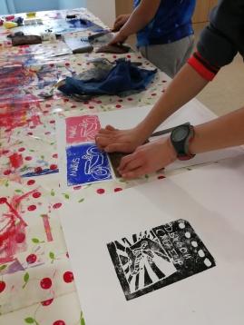 atelier gravure enfant