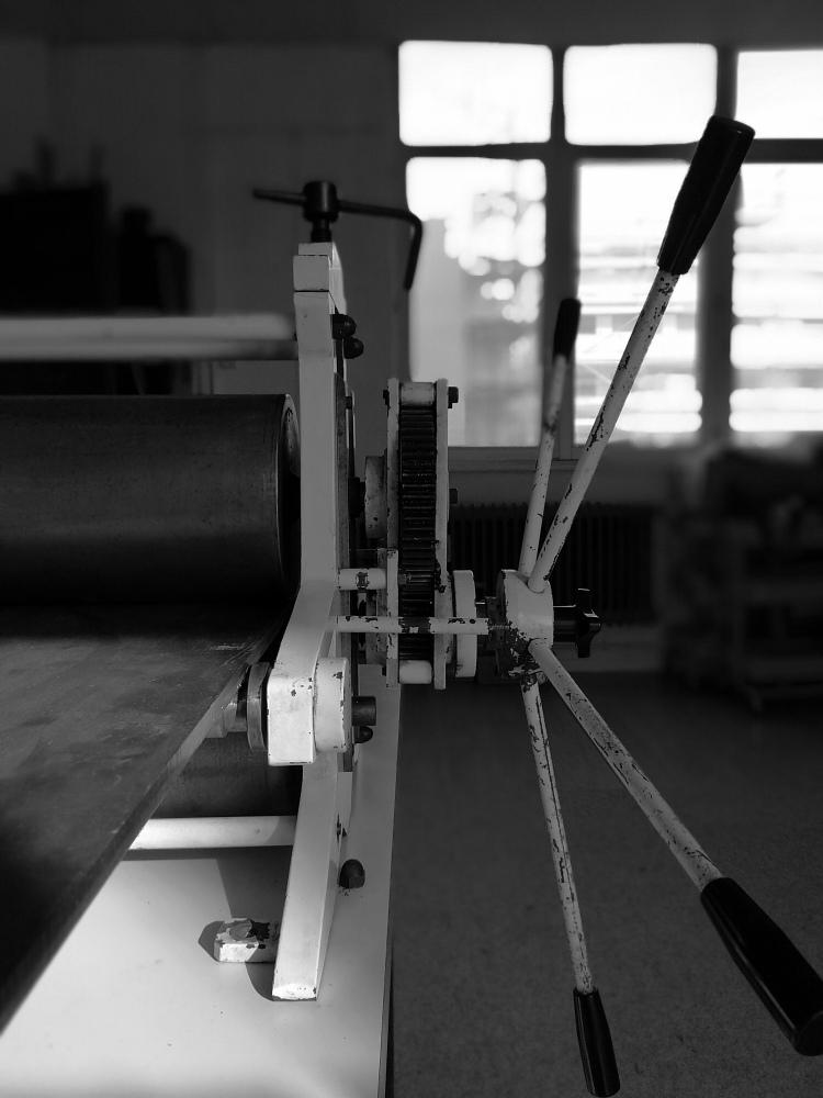 presse atelier cours gravure strasbourg